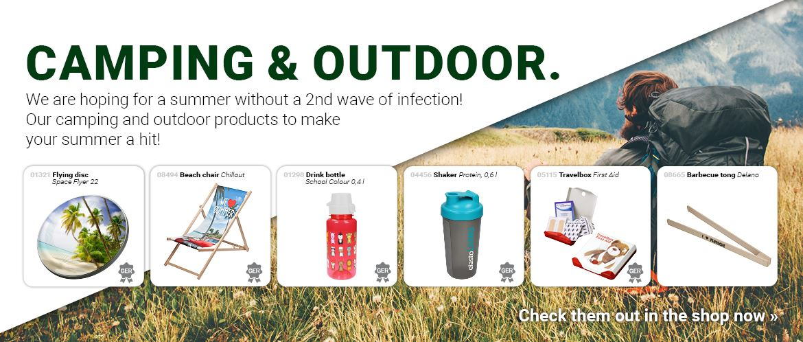 Products for Camping and Outdoor