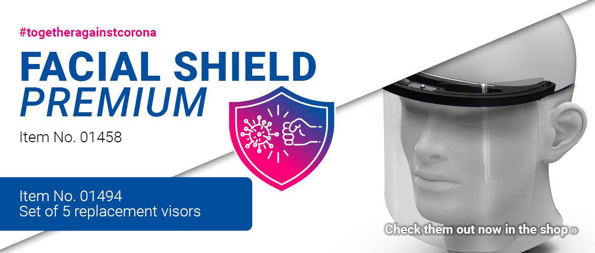 Facial shield Premium