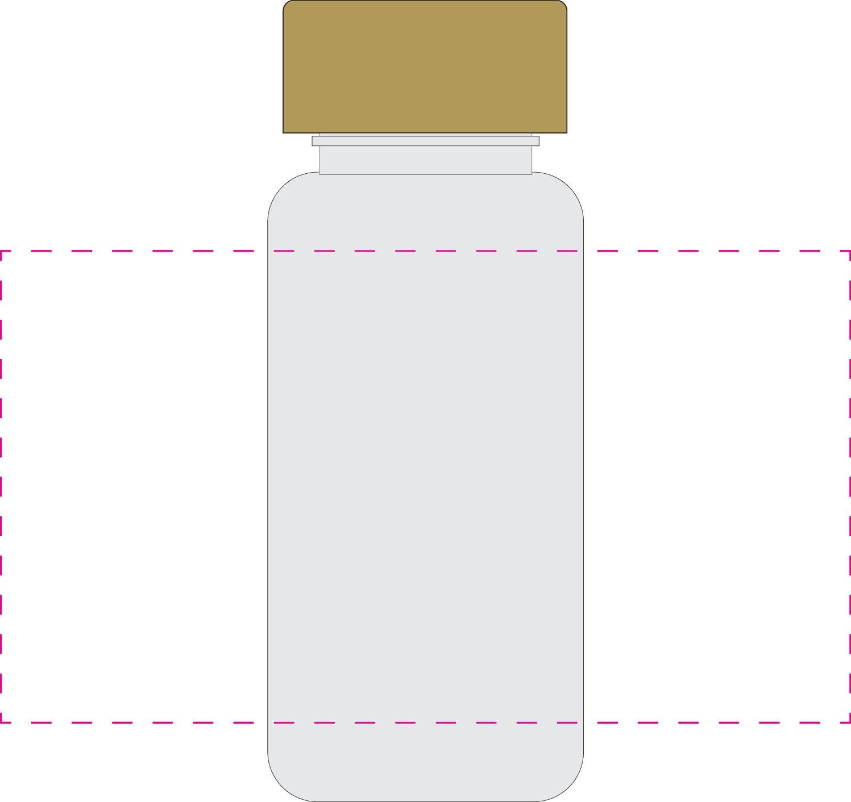 Trinkflasche  U0026quot Natural U0026quot  Colour 0 4 L  Rot