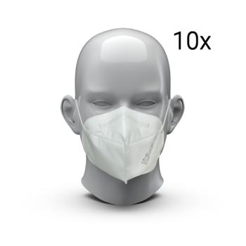"Respiratory Mask ""UNI3-R"" FFP2 NR (Set of 10)"